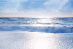 Beautiful tropical beach view Stock Images