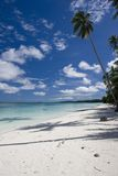 Beautiful Tropical Beach with white sand Stock Photo