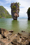 Beautiful tropical big stones Royalty Free Stock Photos