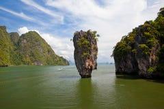 Beautiful tropical big stones Royalty Free Stock Photography