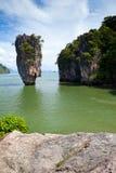 Beautiful tropical big stones Stock Image