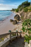 Beautiful Tropical Coast with Clear Water Royalty Free Stock Image