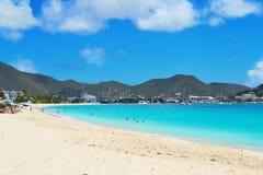 Beautiful, Tropical Island Beach Stock Image