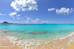 Beautiful, Tropical Island Beach Stock Images