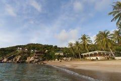 Beautiful tropical island with nice bungalow. Koh Tao island Stock Images