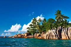 Beautiful tropical island Royalty Free Stock Image