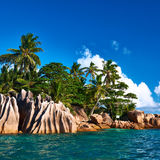 Beautiful tropical island Stock Images