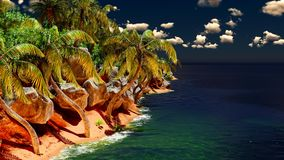 Beautiful tropical island Royalty Free Stock Photos