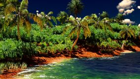 Beautiful tropical island Stock Photo