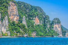 Beautiful tropical islands in exotic paradise at Thailand. Royalty Free Stock Photo