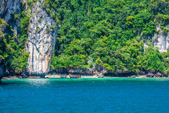 Beautiful tropical islands in exotic paradise at Thailand. Stock Photo