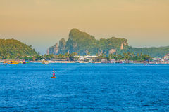 Beautiful tropical islands in exotic paradise at Thailand. Stock Images