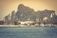 Beautiful tropical islands in exotic paradise at Thailand. Stock Photography