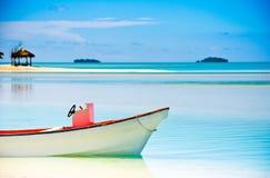 Beautiful Tropical Lagoon Royalty Free Stock Photos