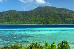 Beautiful tropical landscape. Lipe island, Thailan Royalty Free Stock Photos