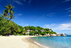 Beautiful tropical landscape. Samui Island, Thailand Royalty Free Stock Photos