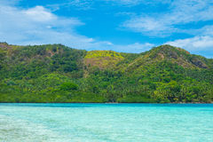 Beautiful tropical landscape Royalty Free Stock Photos