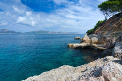 Beautiful tropical Majorca east coast Stock Photo