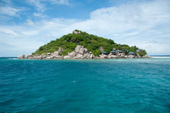 Beautiful tropical paradise in Thailand Royalty Free Stock Images
