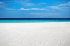 Beautiful tropical sand beach island Stock Photo