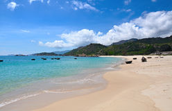 Beautiful tropical scenery, beach Bai Dai Royalty Free Stock Photos