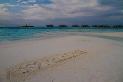 Beautiful tropical scenery, Maldives Stock Photos