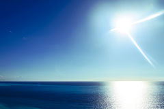 Beautiful tropical sea horizon. Royalty Free Stock Image