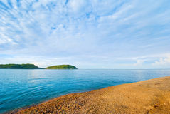 Beautiful tropical seascape rocky seacoast,Phuket Island Royalty Free Stock Photos