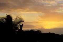 Beautiful tropical sky Stock Photography