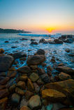 Beautiful tropical sunrise Royalty Free Stock Photos