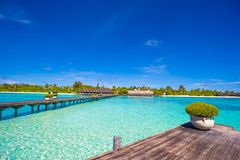 Free Beautiful Tropical View Of Perfect Ideal Island Stock Photography - 55620162