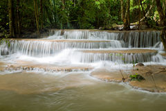 Beautiful Tropical Watefall Stock Image