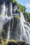 Beautiful tropical waterfall Royalty Free Stock Photos