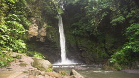 Beautiful tropical waterfall. Philippines Camiguin island. stock video footage
