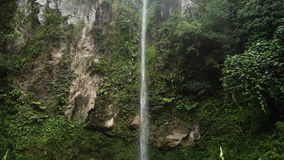 Beautiful tropical waterfall. Philippines Camiguin island. stock video