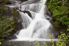 Beautiful Tropical waterfall from Phu Soi Dao National Park Royalty Free Stock Photography