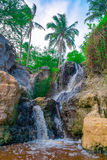 Beautiful tropical waterfall. Vietnam, Southeast Asia Stock Image