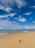 Beautiful tropical white sand beach, Thailand Royalty Free Stock Photo