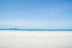 Beautiful tropical white sand beach Royalty Free Stock Photos