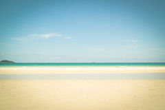 Beautiful tropical white sand beach Stock Photography