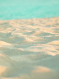 Beautiful tropical white sea sand clouse up Stock Photos