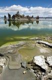 Beautiful Tuff columns at South Tufa, Mono Lake - California Stock Photos