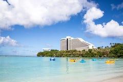 Beautiful Tumon Bay in Guam Stock Images