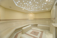Beautiful turkish bath. In new modern hotel Royalty Free Stock Photos