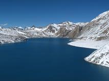 Beautiful turquoise Lake Tilicho Stock Photography