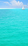 Beautiful turquoise ocean Stock Images