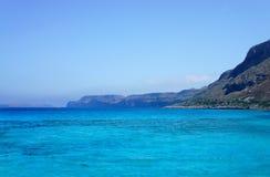 Beautiful turquoise sea and nature Stock Photos
