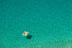 Beautiful turquoise sea royalty free stock images