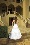 Beautiful Tuscan Bride With Br Stock Photography