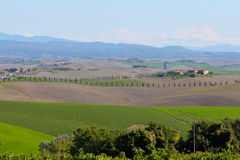 Beautiful Tuscany Landscape Royalty Free Stock Photo